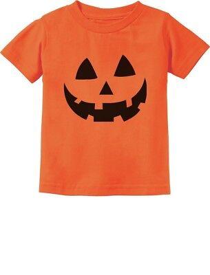 Jack O' Lantern Pumpkin Face Halloween Costume Toddler Kids T-Shirt Gift - Halloween Costume Ideas Toddler