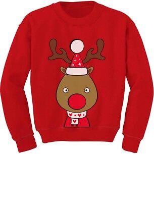 Christmas Outfit For Toddler Boy (Cute Reindeer Outfit For Christmas Toddler/Kids Sweatshirt Girls)