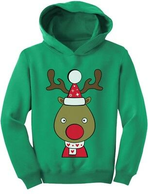 Christmas Outfit For Toddler Boy (Cute Reindeer Outfit For Christmas Toddler Hoodie Girls)