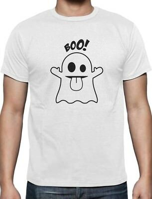 Boo Ghost Halloween Costume Funny T-Shirt Gift