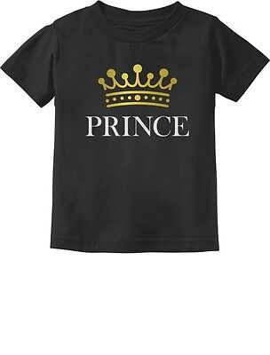 Prince Crown Gift for Son /Baby Brother Little Boys Toddler/Infant Kids T-Shirt - Crowns For Boys