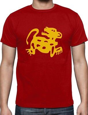 Red Jaguars 90s Tribute Retro Halloween Team Costume T-Shirt Throwback
