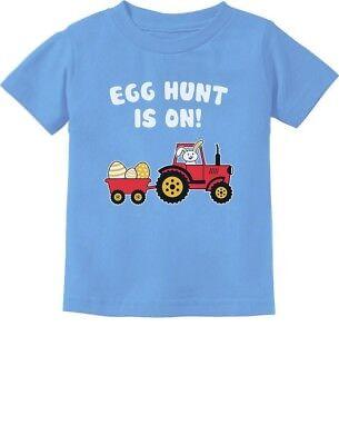 Easter Egg Hunt Gift for Tractor Loving Kids Toddler/Infant Kids T-Shirt Easter (Easter For Toddlers)