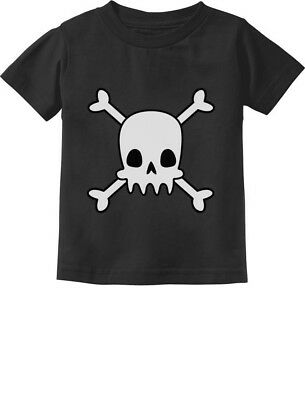 Skulls Cross-bones Cute Halloween Toddler Kids T-Shirt Gift Idea