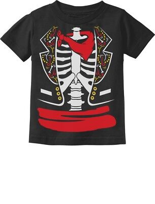 Day of The Dead Halloween Mexican Skeleton Costume Toddler Kids T-Shirt Dia - Dead Kid Halloween
