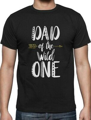 Dad Of The Wild One Funny 1st Birthday T-Shirt Gift Idea (1 Birthday Ideas)