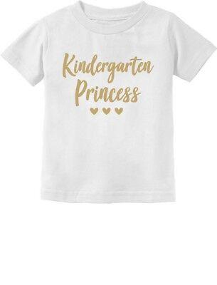 Kindergarten Princess Cute Back to School Toddler Kids T-Shirt 1st Day of - 1st Day Of Kindergarten