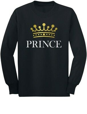 Prince Crown Gift for Son , Brother Little Boys Toddler/Kids Long sleeve - Crowns For Boys