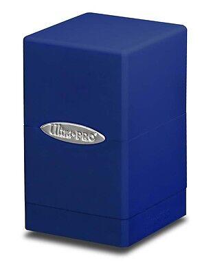 1 Ultra Pro Satin Tower Deck Protector Box - Blue - MTG Gami