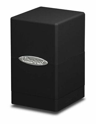 Ultra Pro Satin Tower Deck Box - Black New (Ultra Pro Mtg Pro Tower Deck Box)