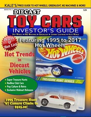 2017 PRICE GUIDE HOT WHEELS M2 Machines GreenLight, Kale