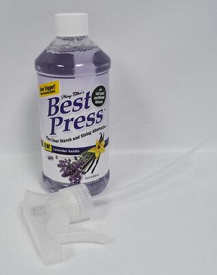 Best Press Spray Starch Lavender Vanilla