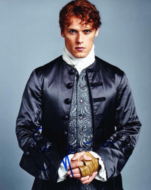 HOT SEXY SAM HEUGHAN OUTLANDER SIGNED 8X10 PHOTO AUTHENTIC AUTOGRAPH COA PROOF J
