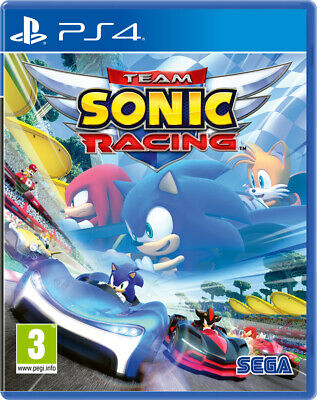 Team Sonic Racing (PS4)  BRAND NEW AND SEALED - IN STOCK - QUICK DISPATCH