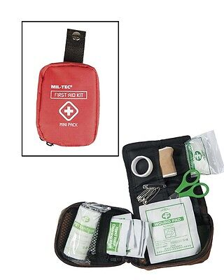 First Aid Pack Mini red, Erste Hilfe, Camping, Outdoor, Military      -NEU-