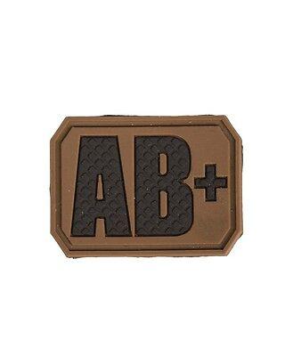 Patch 3D Blood, mit Klett, Abzeichen Blutgruppe, Feldjacke, Army, Military -NEU-