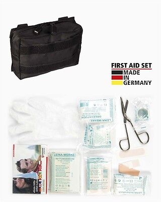 First Aid Set Leina pro.25-tlg sm schwarz, Erste Hilfe, Camping, Outdoor -NEU-