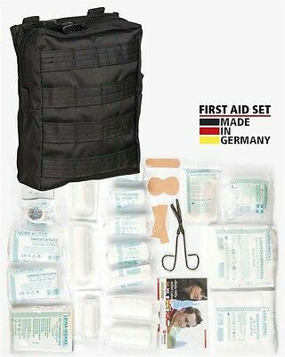 First Aid Set Leina pro.43-tlg lg schwarz, Erste Hilfe, Camping, Outdoor -NEU-