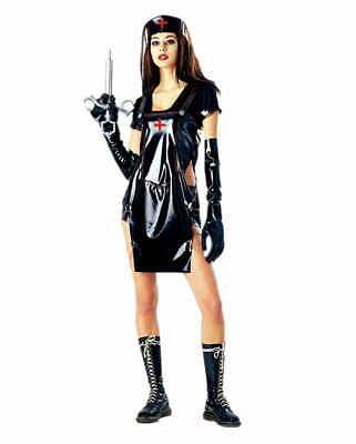 Fetisch Krankenschwester - Krankenschwester Kostüm Schwarz