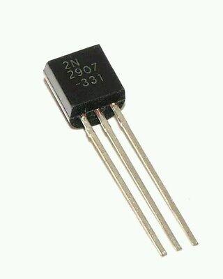 50pcs 2n2907 Pnp Transistor To-92 600ma 60v. Usa Seller...
