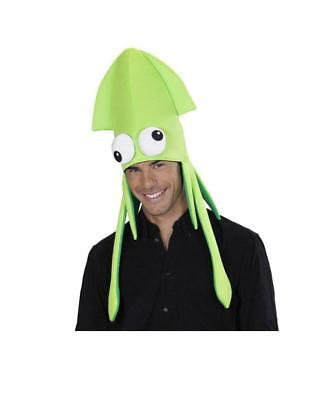Giant Squid Costume (**  NOVELTY GIANT GREEN SQUID HAT NEW STAG FANCY DRESS HEN PARTY FARM)