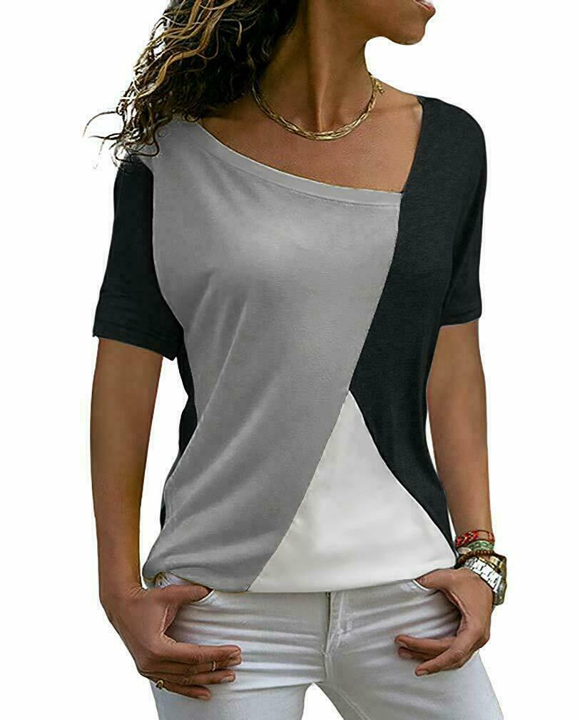 womens shirts casual tee shirt short sleeve