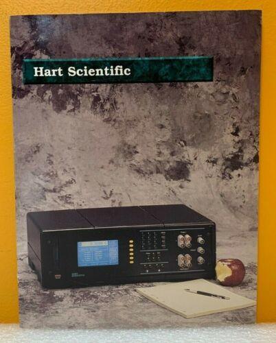 Hart Scientific Inc. Temperature Calibration Equipment Catalog.