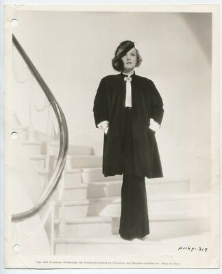 Marlene Dietrich 1930 Travis Banton Fashion Vintage Photo Devil Is A Woman J5471