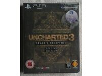 UNCHARTED 3 DRAKE'S DECEPTION PS3 GAME