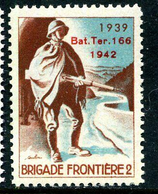 Switzerland Soldier Stamp Territorial  #305 Schweiz Soldatenmarken 15