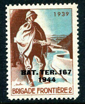 Switzerland Soldier Stamp Territorial  #314 Schweiz Soldatenmarken 15