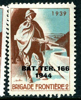 Switzerland Soldier Stamp Territorial  #308 Schweiz Soldatenmarken 15