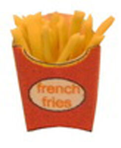 1-12-Scale-Single-Take-Away-French-Fries-Dolls-House-Miniature-Food-Accessory-Si