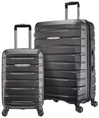 "NEW OPENED BOX -Samsonite TECH TWO 2-Piece Hardside Luggage Set, Gray(27""&20""IN)"