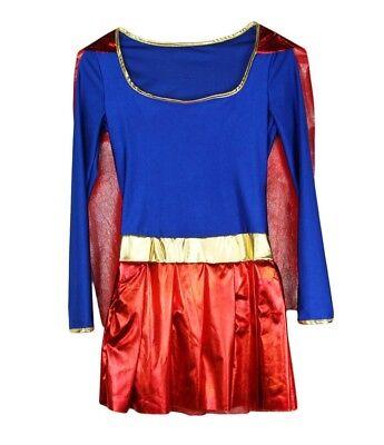 I-CURVES Ladies women's super action hero fancy dress - Super Hero Women