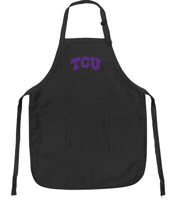 TAILGATING GIFT TCU HORNED FROGS Apron Texas Christian University GIFT IDEA