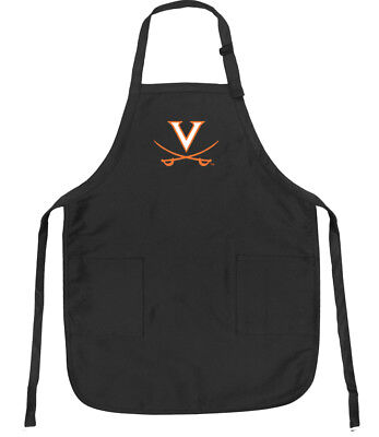 TAILGATING IDEAS UVA Apron VIRGINIA CAVALIERS Apron Grill BBQ Large Apron for Me
