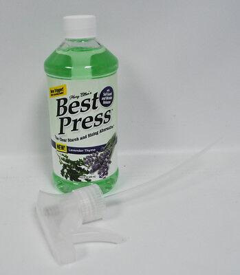 Best Press Spray Starch Lavender Thyme