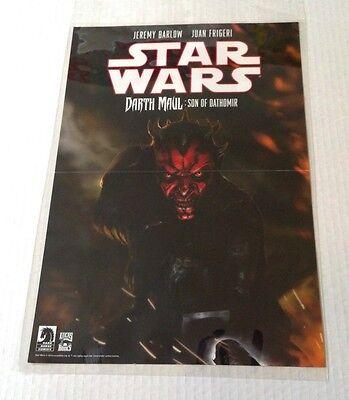 SDCC 2014 - STAR WARS Rebel Heist & Darth Maul - Double Sided Dark Horse Poster