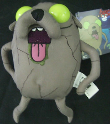Nwt Adventure Time Candy Zombie Green Eyes Jake 5  Cartoon Dog Plush Toy Doll