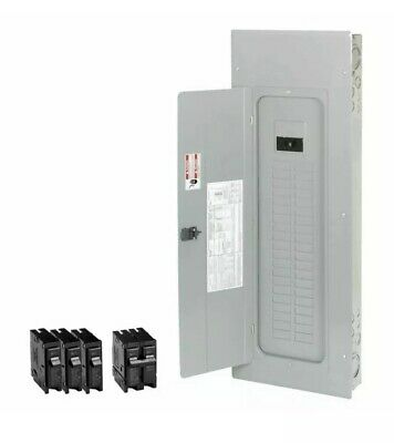 Eaton 200-amp 40-space 50-circuit Main-breaker Box Indoor Home Electrical-panel