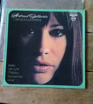 Astrud Gilberto Once Upon A Summertime Verve LP