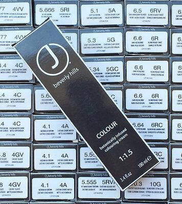 Hair Colouring Cream (J Beverly Hills Hair Colour 3.4 fl oz Colouring Cream 1:1.5 Pick ur Color Shade )