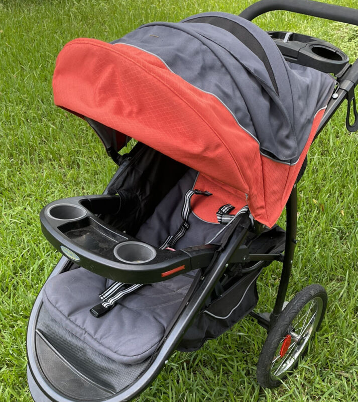 Replacement SLING +Harness CANOPY & BASKET for GRACO FastAction Jogger Stroller