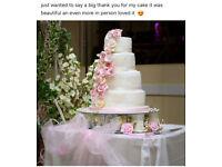 Bespoke wedding and celebration cakes