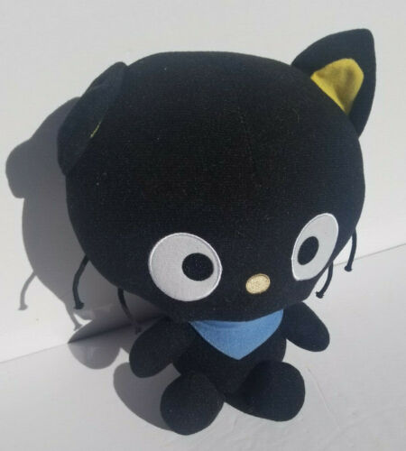 "Sanrio Chococat Plush 2011 Excellent Condition 10.5"" BIG Head by Fiesta Kittie"