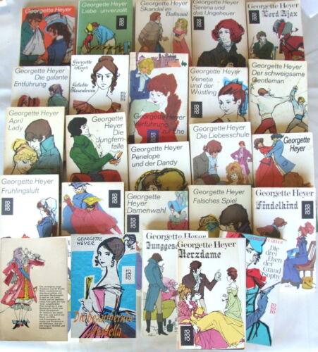 Georgette Heyer 1Wunschbuch Arabella/Frühlingsluft/Spanische Braut/April Lady ua