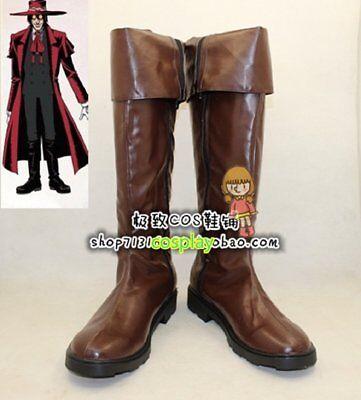 Hellsing Alucard cosplay kostüm Vampire Hunter stiefels stiefel schuhe schuh (Vampire Hunter Kostüm)