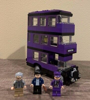 LEGO Harry Potter The Knight Bus (4866), Used, 100% Complete