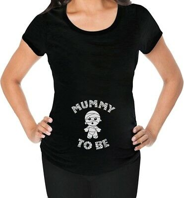 Mummy To Be Halloween Pregnancy Mom To Be Funny Maternity Shirt Gift - Funny Halloween Pregnancy Shirts